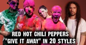 red hot chili peppers ten second songs