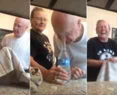water bottle penny prank