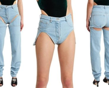 detachable jeans