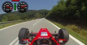 Formula Race Car hill climb