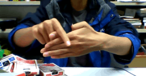 magic thumb trick