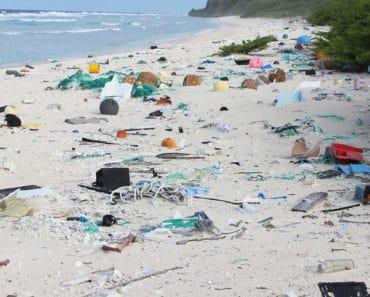 ocean island pollution
