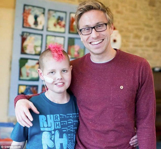 russell howard cancer boy