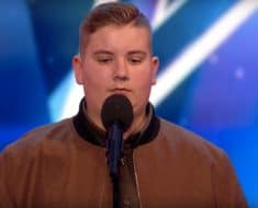 Golden buzzer Britain's Got Talent Kyle