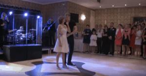 dirty dancing first wedding dance