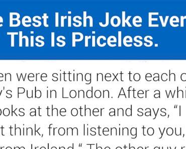 funny Irish joke