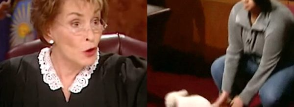 Man And Woman Fight Over Lost Dog. Judge Judy Lets The Dog Decide Who The Real Owner Is!