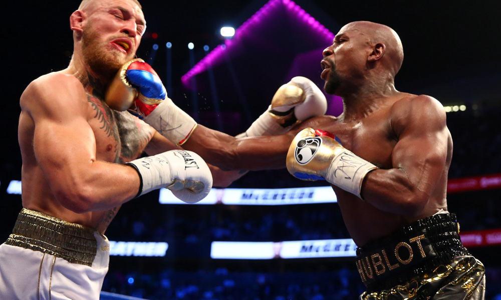 Conor McGregor vs. Floyd Mayweather Fight TKO