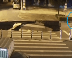 sink hole scooter