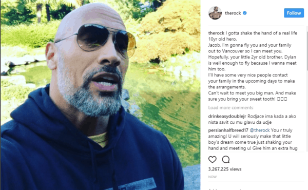 The Rock Boys Saves Brother Drowning