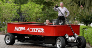 Radio Flyer Hot Rod Car