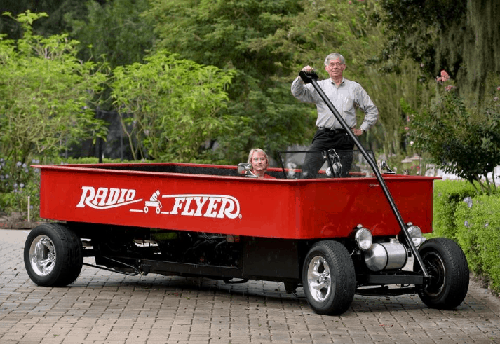 Radio Flyer Hot Rod Car