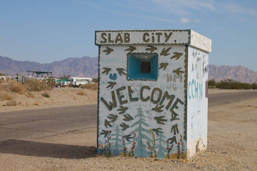 Slab City No Laws