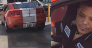 Woman Catches Mechanic Taking Her Sports Car For A Joy Ride