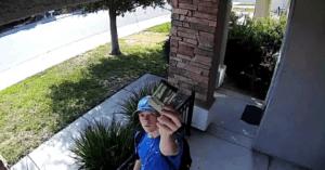 stranger returns wallet security camera
