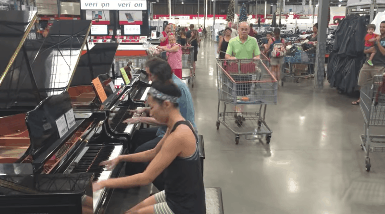 Costco Adele Piano