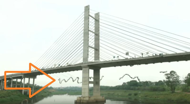 bridge rope jumping record