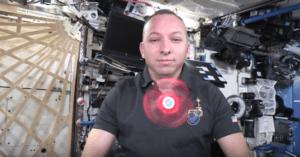 fidget spinner space