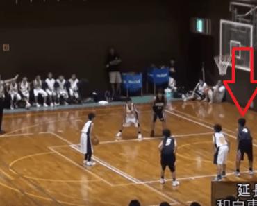 full court basketball shot