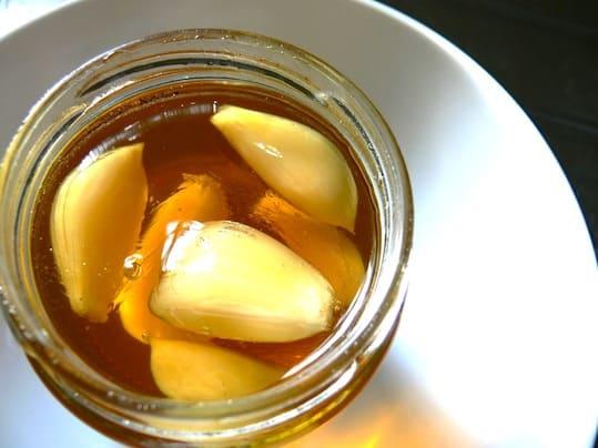 garlic honey empty stomach