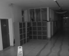 ghost school caught on camera