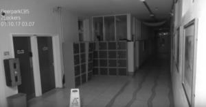 ghost school caught on camera