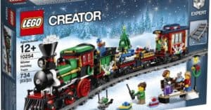 LEGO Christmas Train Set