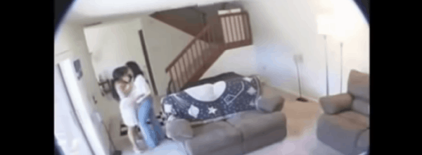 Husband Set Up Hidden Camera To Catch Maid Stealing, Captures More Than He Bargained For!