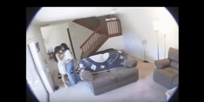 Hidden Camera Sex Maid