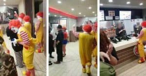 Ronald McDonald Burger King