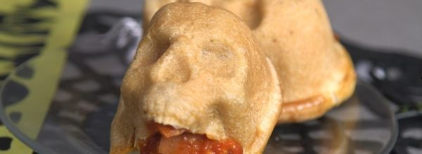 These Pizza Skulls Are Packed Full With Oozing Cheese Brains!