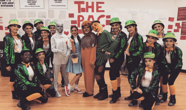 Wizard of Oz Homecoming Dance Assembly
