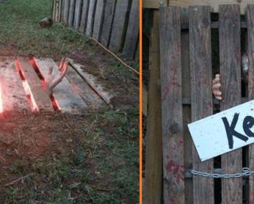 Halloween DIY wood pallet