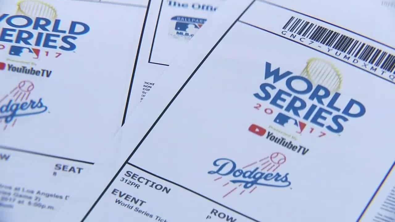 world series tickets $9