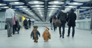 Heathrow Christmas commercial bears