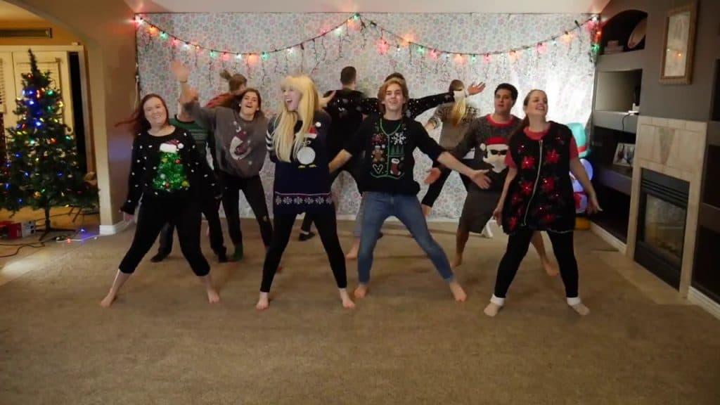 family Christmas dance tradition