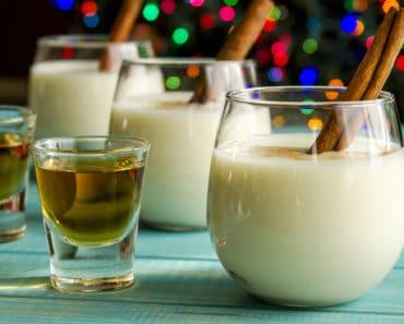 eggnog mixed drink