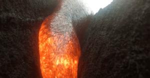 GoPro lava volcano