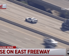 Dodge Hellcat police chase