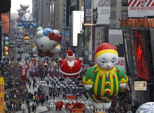 2017 Thanksgiving Day Parade Lineup