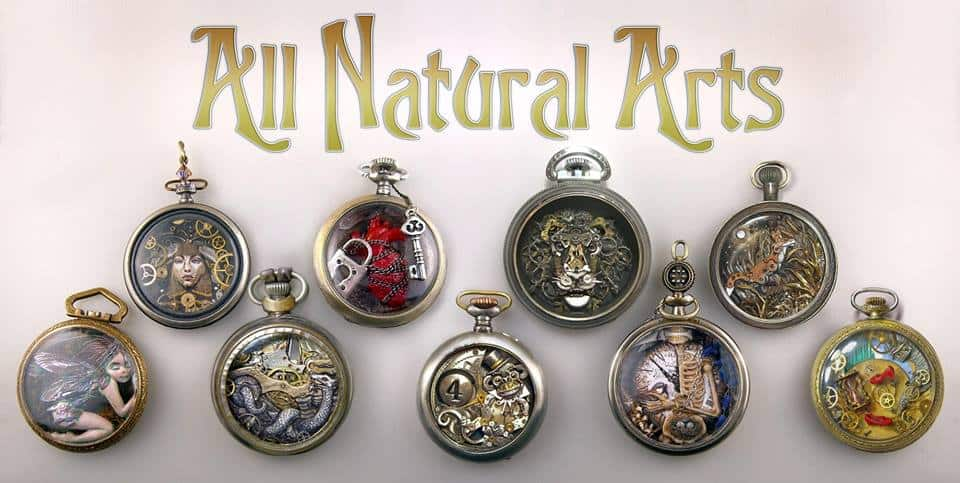Susan Beatrice steampunk watch art
