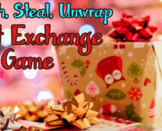 switch steal unwrap gift exchange game Christmas