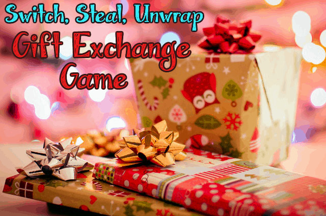 switch steal unwrap gift exchange game