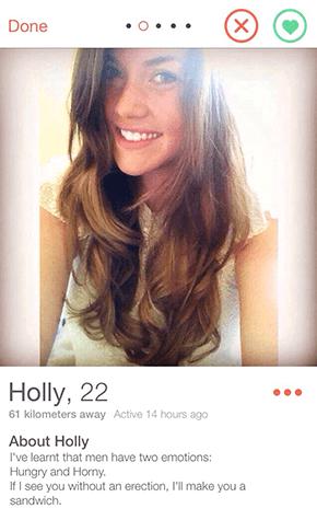 funny Tinder profile bio