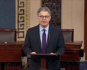 senator Al Franken quits senate