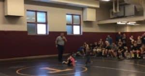 brother sister wrestling match