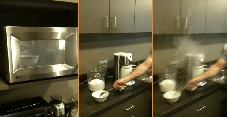 Hard Boiled Egg Microwave Explosion