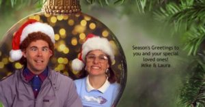 family awkward funny Christmas Cards