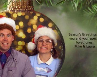 family awkward funny Christmas Cards
