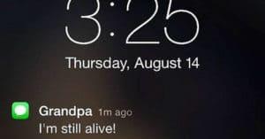 funny texts grandparents